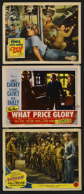 "Movie Posters:War, War Lot (Various, 1943-1977). Lobby Cards (3) (11"" X 14""), Program(Multiple Pages) and Pressbook (Multiple Pages). War.... (Total: 5Items)"
