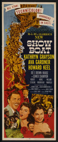 """Movie Posters:Musical, Show Boat (MGM, 1951). Insert (14"""" X 36""""). Musical. ..."""