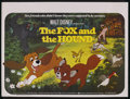 "Movie Posters:Animated, The Fox and the Hound (Buena Vista, 1980). British Quad (30"" X40""). Animated. ..."