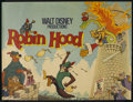 "Movie Posters:Animated, Robin Hood (Buena Vista, 1973). British Quad (30"" X 40""). Animated. ..."