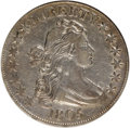 Early Half Dollars: , 1805 50C --Whizzed--ANACS. XF40 Details. O-111. NGC Census:(30/82). PCGS Population (44/49). Mintage: 211,722. Numismedia W...