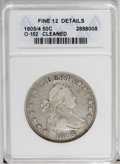 Early Half Dollars: , 1805/4 50C --Cleaned--ANACS. Fine 12 Details. O-102. NGC Census:(4/136). PCGS Population (7/98). Numismedia Wsl. Price: $4...