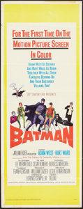 "Movie Posters:Action, Batman (20th Century Fox, 1966). Insert (14"" X 36"") & UncutPressbook (Multiple Pages, 9"" X 14""). Action.. ... (Total: 2 Items)"