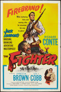 """Movie Posters:Sports, The Fighter (United Artists, 1952). One Sheet (27"""" X 41""""). Sports....."""