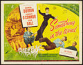 """Movie Posters:Comedy, Something in the Wind (Universal International, 1947). Half Sheet(22"""" X 28""""). Comedy.. ..."""