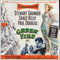 "Movie Posters:Adventure, Green Fire (MGM, 1954). Six Sheet (81"" X 81""). Adventure.. ..."