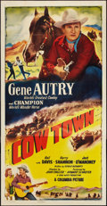 """Movie Posters:Western, Cow Town (Columbia, 1950). Three Sheet (41"""" X 81""""). Western.. ..."""