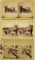 Photography:Stereo Cards, LOT OF SIX SAN FELIPIE PUEBLO NATIVE AMERICAN INDIAN STEREOGRAPHS - ca.1870-1890. This set is highlighted by two stereo view... (Total: 6 Item)
