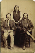 Photography:Cabinet Photos, Buckskin Charley (Charlie) Ute Chief Cabinet Card, ca. 1880s....
