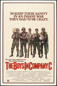 """The Boys in Company C (Columbia, 1978). One Sheets (2) (27"""" X 41""""). Styles A & B. War. ... (Total: 2 Items..."""