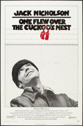 "Movie Posters:Academy Award Winners, One Flew Over the Cuckoo's Nest (United Artists, 1975). One Sheet (27"" X 41""). Drama.. ..."