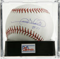"Autographs:Baseballs, Gary Sheffield ""#11"" Single Signed Baseball, PSA Gem Mint 10.Perfect example of Sheff's single offered here, with the playe..."