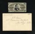 Fractional Currency:Third Issue, Fr. 1291 25c Third Issue With Lyman Low Envelope Choice New....
