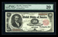 Large Size:Treasury Notes, Fr. 375 $20 1891 Treasury Note PMG Very Fine 20....