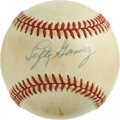 "Autographs:Baseballs, Lefty Gomez Single Signed Baseball. A 20 game winner four times andan American League All-Star many times, Vernon ""Lefty"" ..."