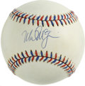 Autographs:Baseballs, Mark McGwire Single Signed Baseball. Setting the single season homerun record in 1998 at 70, the former slugger for the Oa...