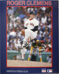 Autographs:Letters, Roger Clemens Signed Photograph. A very special signed RogerClemens signed photograph. Color photo measures an overall 8x1...