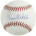 "Autographs:Baseballs, David Wells Single Signed Baseball. Starting pitcher in twoAll-Star games, David ""Boomer"" Wells added his bold and distinc..."