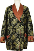 Music Memorabilia:Memorabilia, Elvis Owned and Worn Japanese Lounging Jacket. A gift from Vernonand Dee Presley to C.W. Bradley and family, this Japanese ...(Total: 1 Item)