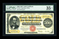 Large Size:Gold Certificates, Fr. 1217 $500 1922 Gold Certificate PMG Choice Very Fine 35 EPQ....