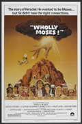 "Movie Posters:Comedy, Wholly Moses (Columbia, 1980). One Sheet (27"" X 41""). Comedy. ..."