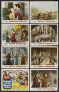 "Movie Posters:Adventure, Knights of the Round Table (MGM, 1953). Lobby Card Set of 8 (11"" X14""). Adventure. ... (Total: 8 Items)"