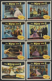 "The King and I (20th Century Fox, 1956). Lobby Card Set of 8 (11"" X 14""). Musical. ... (Total: 8 Items)"