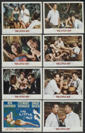 "Movie Posters:Comedy, The Little Hut (MGM, 1957). Lobby Card Set of 8 (11"" X 14""). Comedy. ... (Total: 8 Items)"