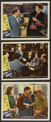 """Little Giant (Universal, 1946). Lobby Cards (3) (11"""" X 14""""). Comedy. ... (Total: 3 Items)"""