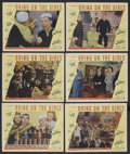 "Movie Posters:Musical, Bring on the Girls (Paramount, 1945). Lobby Cards (6) (11"" X 14""). Musical. ... (Total: 6 Items)"