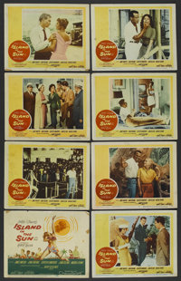 """Island in the Sun (Warner Brothers, 1957). Lobby Card Set of 8 (11"""" X 14""""). Drama. ... (Total: 8 Items)"""