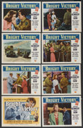 "Movie Posters:Drama, Bright Victory (Universal International, 1951). Lobby Card Set of 8 (11"" X 14""). Drama. ... (Total: 8 Items)"