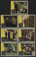 "Movie Posters:War, Two Tickets to London (Universal, 1943). Lobby Cards (7) (11"" X14""). War. ... (Total: 7 Items)"