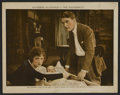 "Movie Posters:Drama, The Thunderbolt (First National, 1919). Lobby Card (11"" X 14""). Drama. ..."