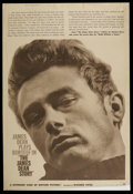 """Movie Posters:Documentary, The James Dean Story (Warner Brothers, 1957). Poster (40"""" X 60""""). Documentary. ..."""