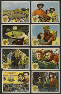 "Movie Posters:Adventure, King Solomon's Mines (MGM, 1950). Lobby Card Set of 8 (11"" X 14""). Adventure. ... (Total: 8 Items)"