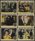 """Movie Posters:Horror, The Picture of Dorian Gray (MGM, 1945). Lobby Cards (6) (11"""" X 14""""). Horror. ... (Total: 6 Items)"""