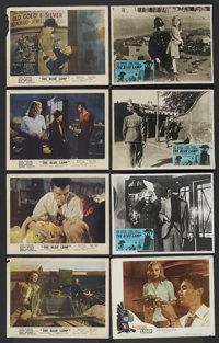 "The Blue Lamp (Eagle Lion, 1950). British Lobby Cards (4), U.S. Lobby Card (1) and Australian Lobby Cards (3) (11""..."