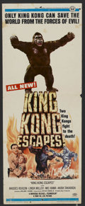 """Movie Posters:Science Fiction, King Kong Escapes (Universal, 1968). Insert (14"""" X 36""""). Science Fiction. ..."""