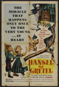 "Movie Posters:Animated, Hansel and Gretel (RKO, 1954). One Sheet (27"" X 41""). Animated. ..."