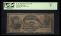 National Bank Notes:Maine, Augusta, ME - $2 Original Fr. 387 The First NB Ch. # 367. ...