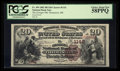 National Bank Notes:Maine, Thomaston, ME - $20 1882 Brown Back Fr. 494 The Georges NB Ch. #1142. ...