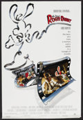 "Movie Posters:Animated, Who Framed Roger Rabbit (Buena Vista, 1988). One Sheet (27"" X 40"") Style A. Animated. ..."