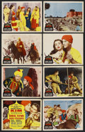 "Movie Posters:Adventure, Kim (MGM, 1950). Lobby Card Set of 8 (11"" X 14""). Adventure. ...(Total: 8 Items)"