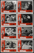 """Movie Posters:Crime, The Killers (Universal, 1964). Lobby Card Set of 8 (11"""" X 14"""").Crime. ... (Total: 8 Items)"""