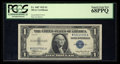Small Size:Silver Certificates, Fr. 1607 $1 1935 Silver Certificate. PCGS Superb Gem New 68PPQ.. ...
