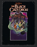 "Movie Posters:Animated, The Black Cauldron (Buena Vista, 1985). Program (9"" X 12"").Animated Adventure. Starring the voices of Grant Bardsley, Susan..."
