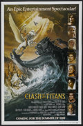 """Movie Posters:Fantasy, Clash of the Titans (MGM, 1981). One Sheet (27"""" X 41"""") Advance Style B. Fantasy. Starring Laurence Olivier, Harry Hamlin, Cl..."""