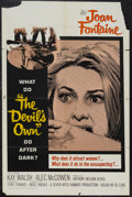 "Movie Posters:Horror, The Devil's Own (20th Century Fox, 1967). One Sheet (27"" X 41""). Horror. Starring Joan Fontaine, Kay Walsh, Alec McCowen and..."