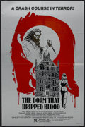 "Movie Posters:Horror, The Dorm That Dripped Blood (New Image, 1982). One Sheet (27"" X 41""). Horror. Starring Laura Lapinski, Stephen Sachs, David ..."